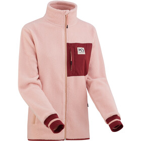 Kari Traa Rothe Fleece Jas Dames, pale